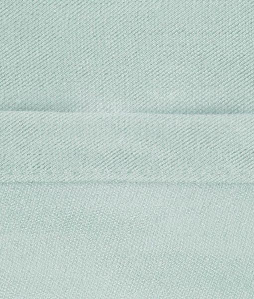 bamboo sheets mint stitching image