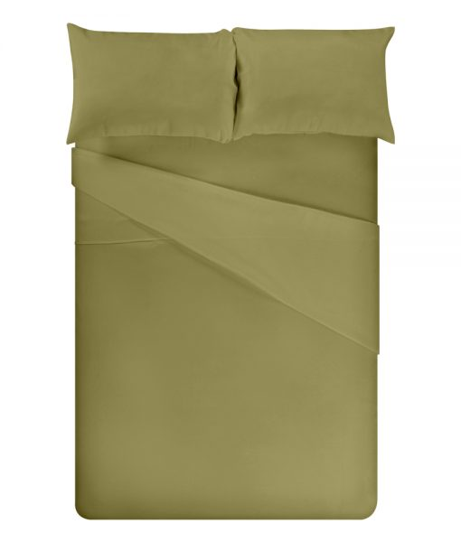 bamboo sheets olive full bed image