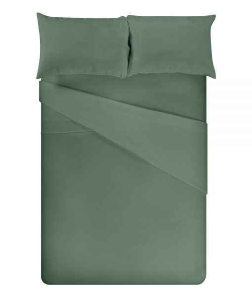 bamboo sheets sage green full bed image