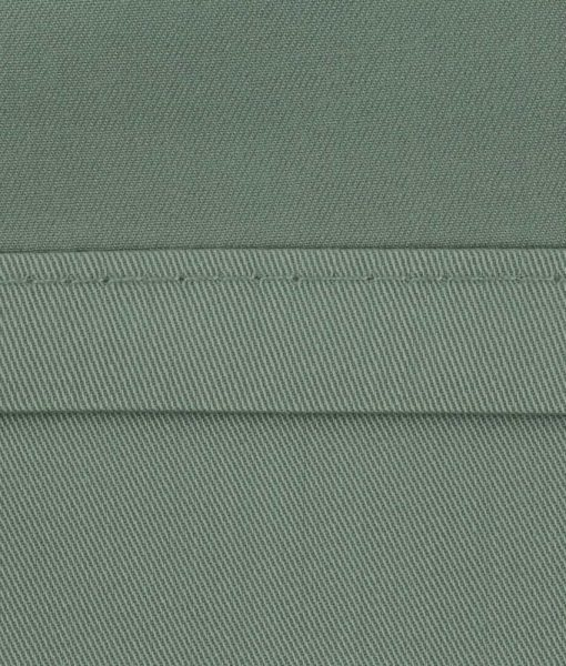 bamboo sheets sage green stitching image