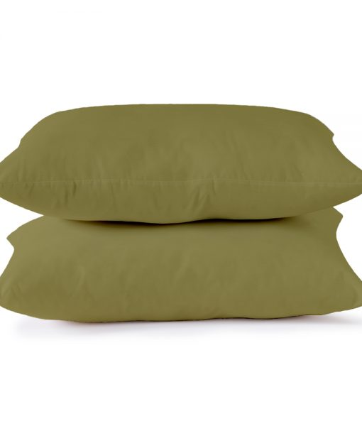 pillowcase stack olive image